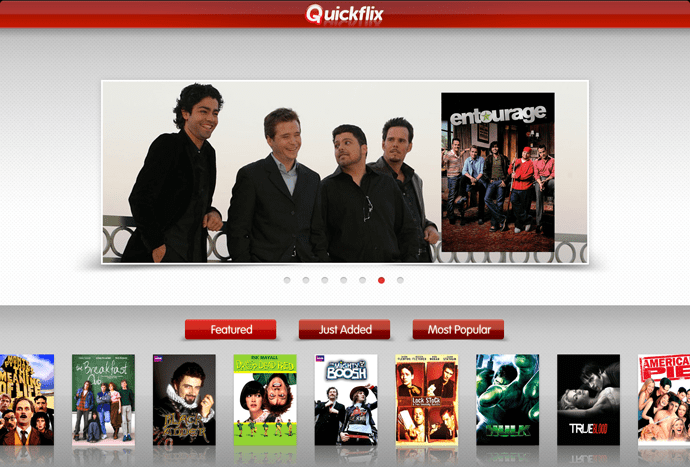 Quickflix is a viable alternative