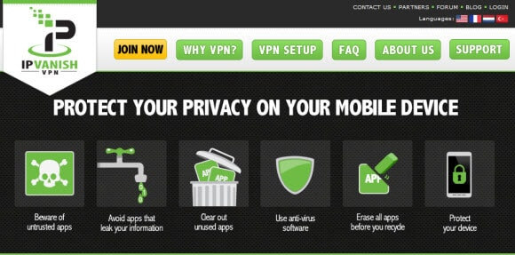ipvanish privacy awareness