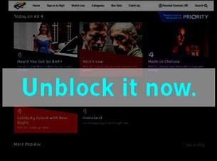 Unlocator unblock Channel 4 On Demand