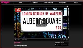 Eastenders on BBC iPlayer
