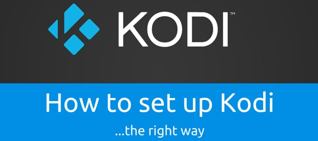 How to set-up Kodi