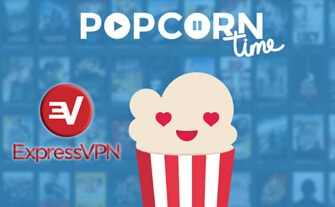 Popcorn Time with Express VPN