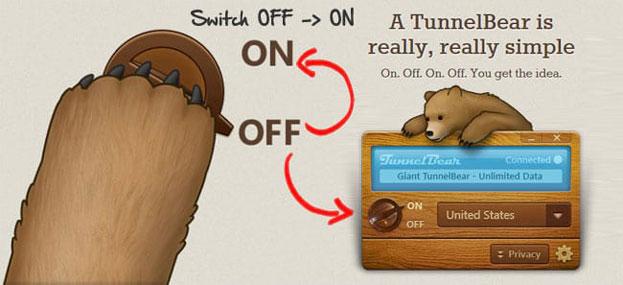 Tunnelbear as VPN