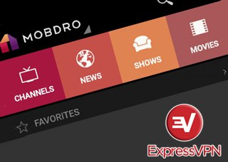 Mobdro with VPN