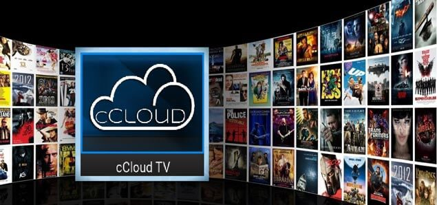 cCloud TV channels list
