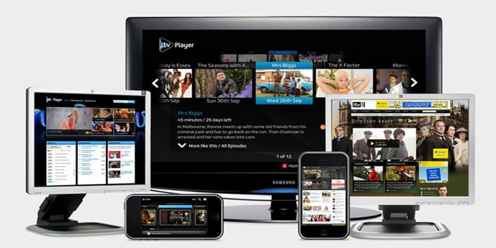 ITV Hub online streaming service