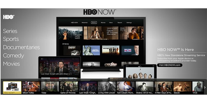 HBO Now in New Zealand