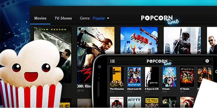Popcorn Time for different devices