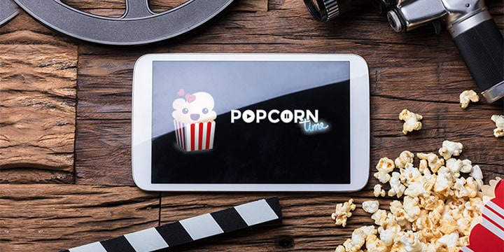 Popcorn time to watch movies online