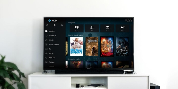 configure Kodi in New Zealand