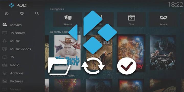 Kodi on your Xbox updates