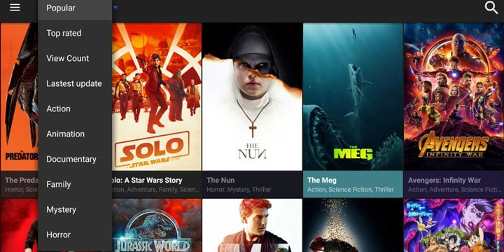Cinema APK Kodi Add-ons