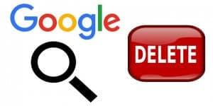 Delete Google Account History