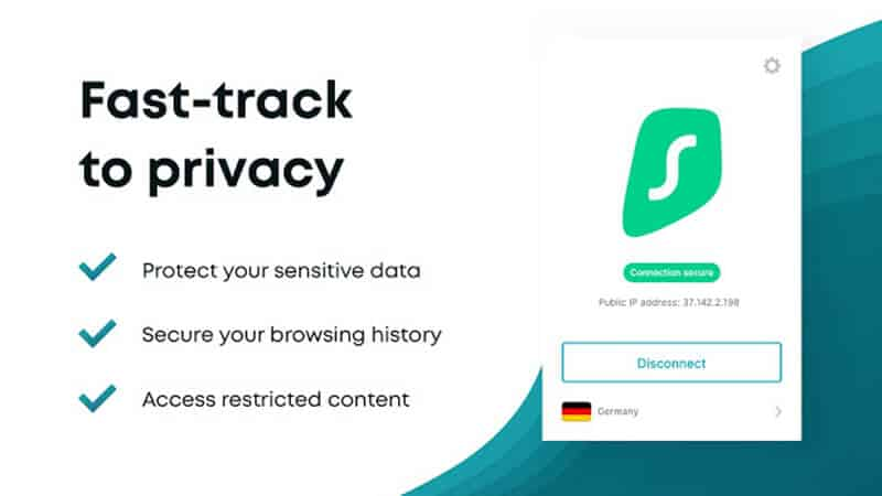 Surf Shark VPN Privacy and Security