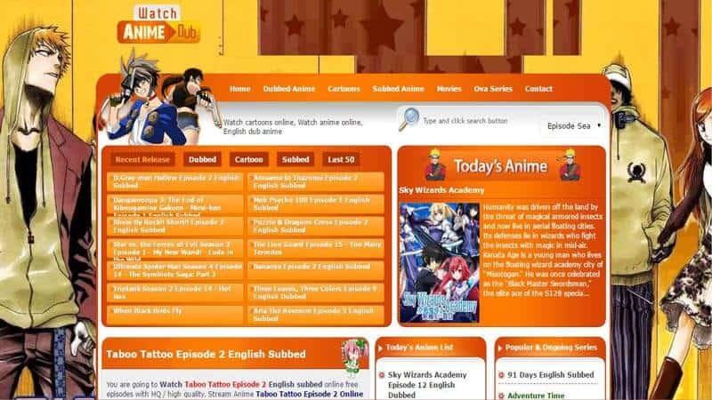 Watch Cartoon Online is the best anime site
