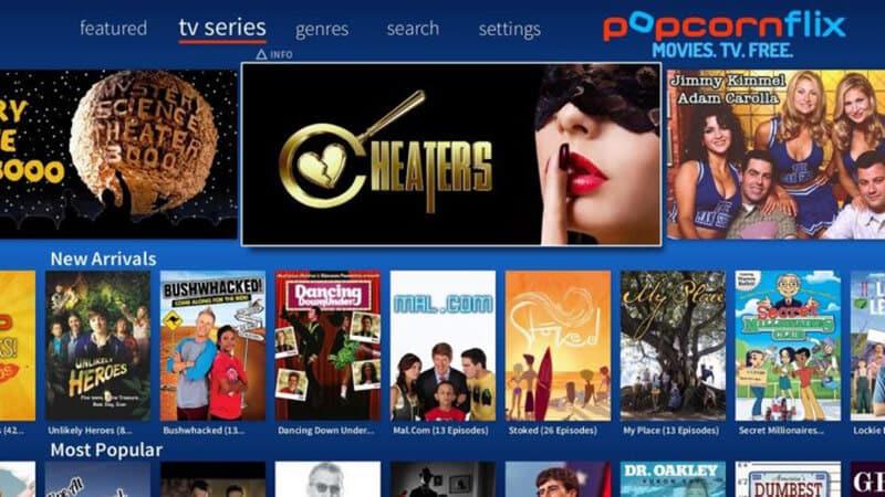 PopcornFlix streaming service