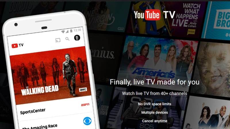 YouTube TV and AMC