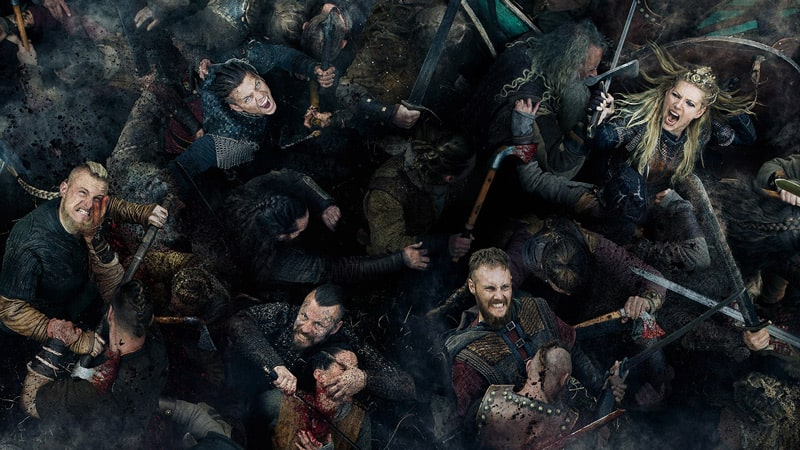 Stream Vikings on Netflix