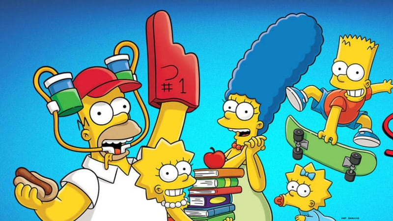 Streaming the Simpsons online