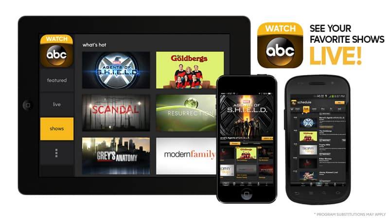 access ABC shows from anywhere