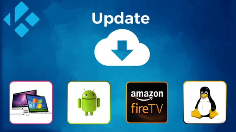 Update Kodi on multiple devices