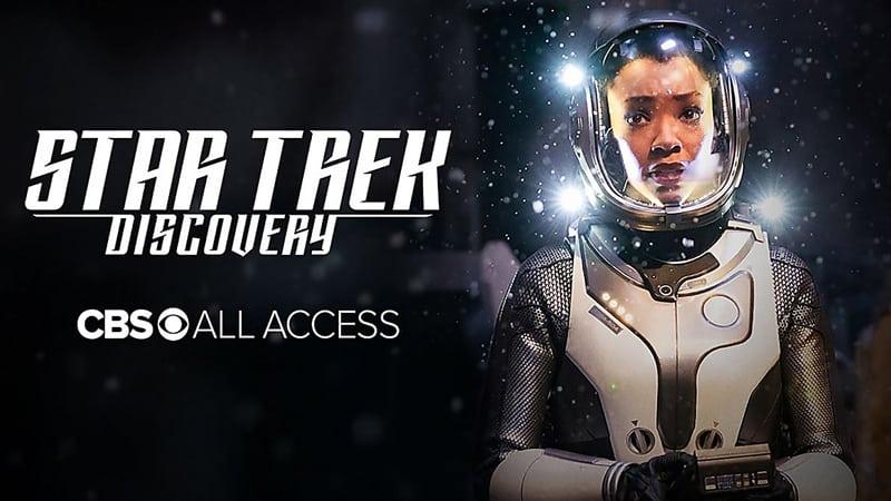 Star Trek Discovery on CBS All Access