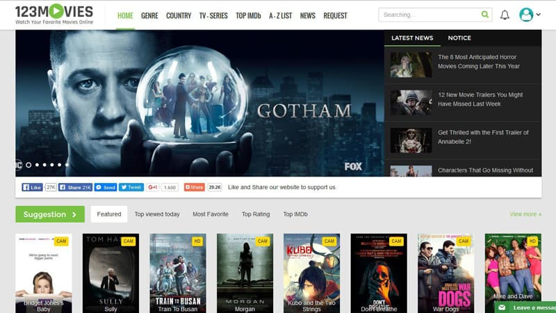 Watch 123movies Online in New Zealand