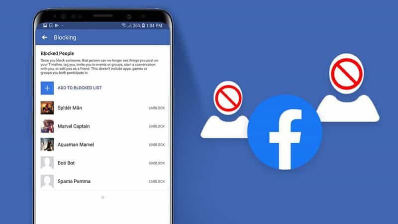 Unblock on Messenger App