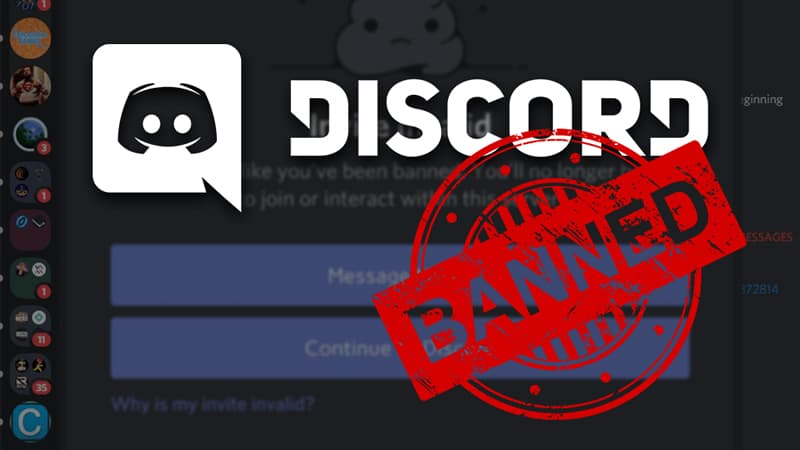 Tips on how to unbanned from Discord server