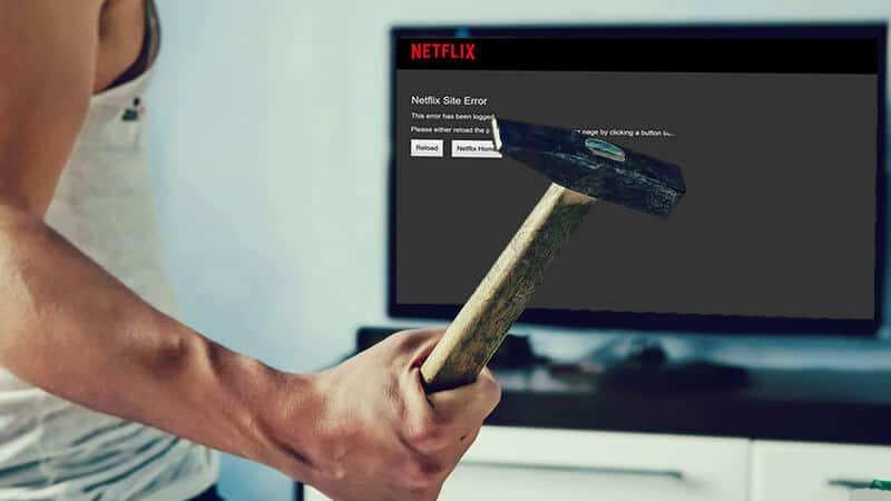 Fixing Netflix Streaming Error